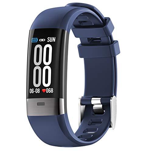 Omiky® Wasserdicht Smartwatch,Smart Watch Sport Gürtel Armband Anruf Schrittzähler Herzfrequenz Intelligente Uhr,Perfekt Geeignet für Männer,Frau
