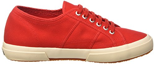 Superga Unisex-Erwachsene 2750-Plus Cotu Pumps Rot