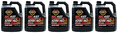 Penrite MC-4 ST 100% PAO Ester 10W-40 Aceite de 4 Tiempos para Motocicleta, 20 litros