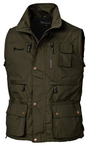 Pinewood Tiveden - Chaleco para Hombre, Color Oliva Oscuro, Talla XL