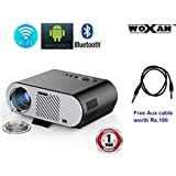 Woxan Portable Video Projector GP90 Up 3200 Lumens Wireless Projector With Android Operating System 4.42 Multimedia HD Home Cinema Theater