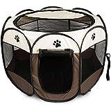 LNLZ - Parque de Juegos para Mascotas, portátil, Plegable, para Cachorros, Perros