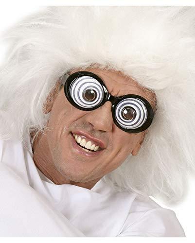 Horror-Shop Crazy Wahnsinns Brille als Scherzartikel & Kostümzubehör für Karneval