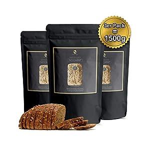 No Carb Eiweißbrot Backmischung 3er Pack mit 20% Proteingehalt | Ohne...