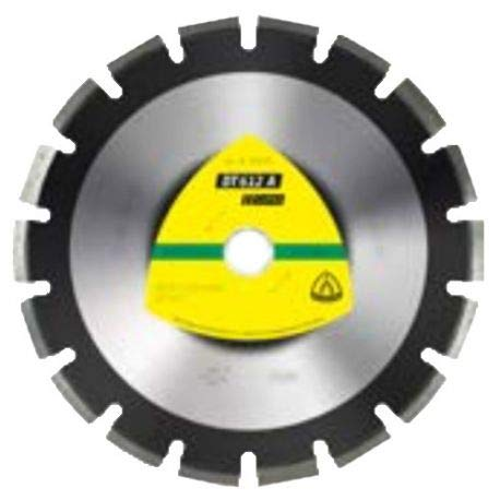 KLINGSPOR 330078 DT 612 A Diamanttrennscheiben 450 x 3,7 x 25,4 mm 25 Segmente 40 x 3,7 x 10 mm Weitverzahnt (Inhalt: 1)