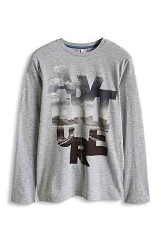 ESPRIT Jungen T-Shirt Gr. 12 Jahre, Grau - Hellgrau