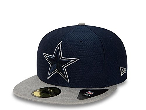 New Era Dryera 59Fifty Cap Dallas Cowboys Blau Grau, Size:7 1/2