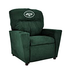 Imperial Officially Licensed NFL Furniture Youth Microfiber Recliner New York Jets