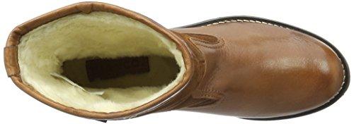 Bianco Warm Combi Boot Son16, Bottes mi-hauteur avec doublure chaude femme Marron - Braun (Light Brown/24)