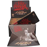 WIZ Khalifa Artesano Style -Loud Pack - King size cartine sottili per sigarette RAW Classic + filtri + vassoio (nuovo prodotto della Raw) - 1 libretto della Trendz