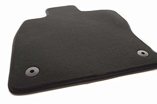Fußmatte Golf 7 VII 5G Velour Automatte, Fahrermatte einzeln, Fahrerseite, schwarz