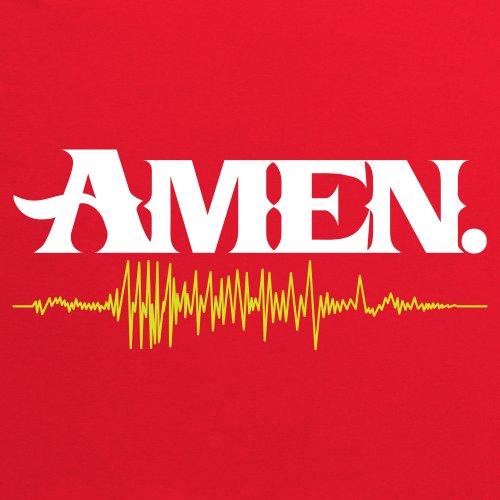 Amen T-shirt, Uomo Rosso