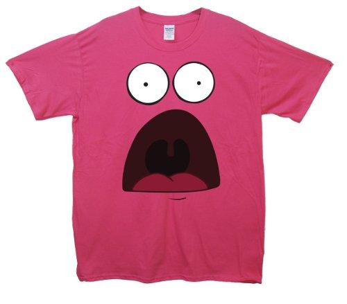 Surprised Patrick T-Shirt Rosa