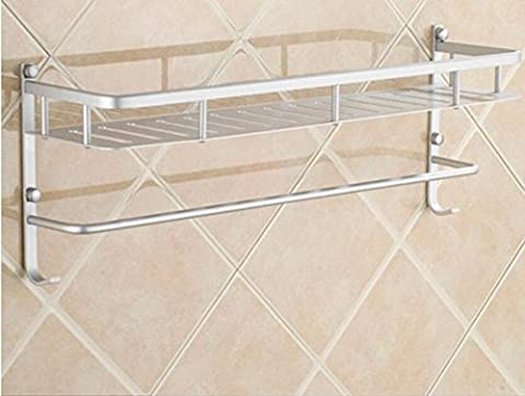 qianmo Badezimmer WC-Regal Wand Handschlag Waschbecken Saugnapf Wandregal, Punch?Standard Edition