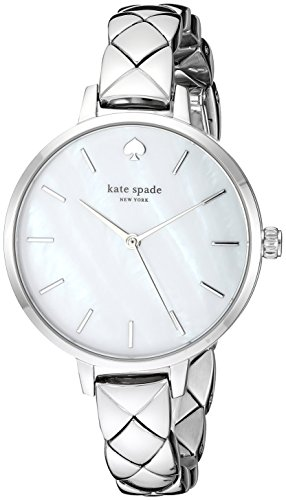 Kate Spade New York Metro Montre à Quartz argenté
