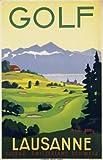 Paramount Prints-Poster Reise Golf Lausanne Schweiz