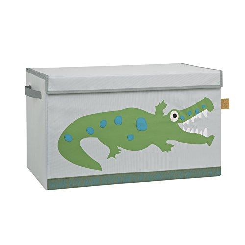 Lässig Storage Toy Trunk Aufbewahrungsbox mit Deckel für Kinderzimmer, Crocodile granny (Toy Storage)