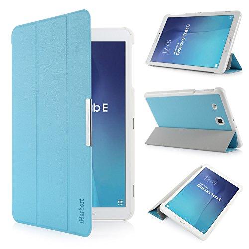 cover tablet samsung tab e iHarbort® Samsung Galaxy Tab E 9.6 custodia in pelle