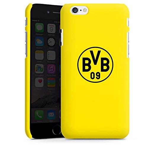 Apple iPhone 7 Silikon Hülle Case Schutzhülle Borussia Dortmund BVB Logo gelb Premium Case matt