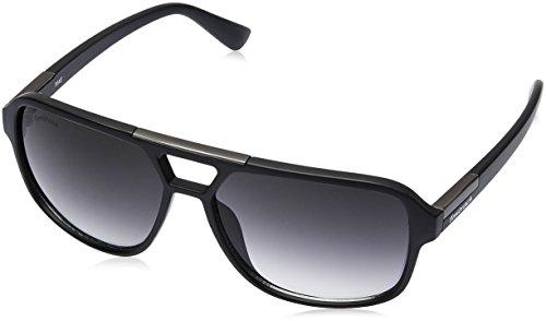 Fastrack Gradient Square Men\'s Sunglasses - (C083BK1|61|Black Color)
