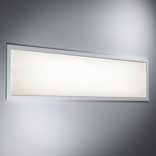 OSRAM-4058075035423-A-to-A-LED-Deckenleuchte-Planon-Pure-Deckenpanel-wei-36-Watt-30x120cm-3000K-Metall-36-watts-Warmwei-1195-x-295-x-105-cm