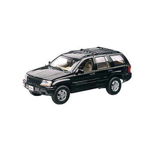 Mondo Motors Modellino Auto Jeep Grand Cherokee Scala 1:18, modellino Miniatura Jeep Grand Cherokee 50/019,modellino in Scala 1/18 Jeep Grand Cherokee Nera,modellino da Collezione Jeep Grand Cherokee