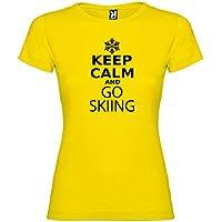 Kruskis 11502302LS121 Camiseta, Mujer, Amarillo, L