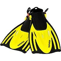 AQUAZON Alicante Verstellbare Flossen, Schnorchelflossen, Taucherflossen, Schwimmflossen für Kinder, Jugendliche zum Schnorcheln, Schwimmen