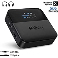 HiGoing Bluetooth 5.0 Transmitter Receiver with Indicator Display