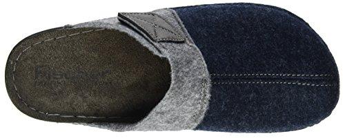 Fischer - Bodo, Pantofole Uomo Blu (Denim )