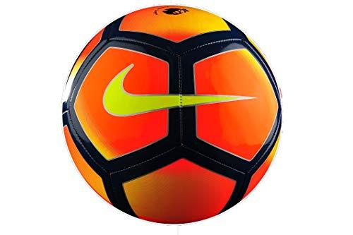 5b51ed5ee Nike Pitch Premier League Fluorescent Orange Black Football Size 5 Ball  Official