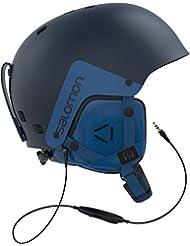 Salomon, Herren Ski- und Snowboardhelm für den Snowpark, ABS-Schale, EPS-Innenschaum, Verkabeltes Audiosystem, BRIGADE AUDIO