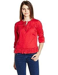 Style Quotient by noi Women's Peplum Top