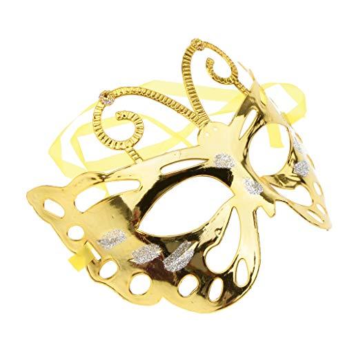 Homyl Damen Maskerade Maske Maskenball Maske Schmetterling Masken Cosplay Halloween und Fasching Maske Kostüm - ()