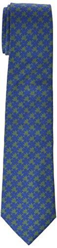 Scalpers Herren Krawatte Flor Tie Grün