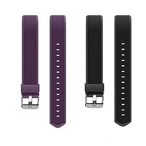 YiYunTE ID115Plus HR - Correa de repuesto ajustable de TPU para pulseras inteligentes de 115 Plus HR 13