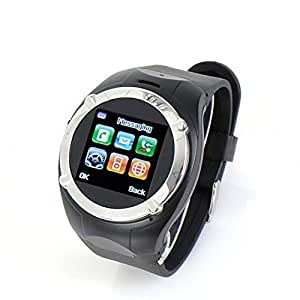 OFTEN Touchscreen Bluetooth Cell Phone Watch FM Camera Mp3/4 (Black)