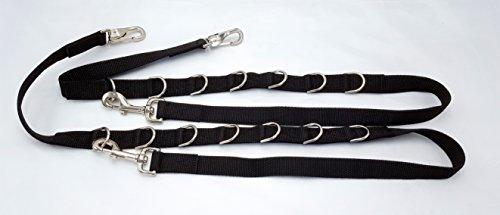 Ausbindezügel Ausbinder Warmblut/Vollblut nicht elastisch mit D-Ringen
