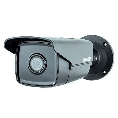 INKOVIDEO V-110-8MB 8MP 4K PoE ONVIF Netzwerk Überwachungskamera mit Nachtsicht bis 50m Videoüberwachung (schwarz) H. 264 Dvr-board