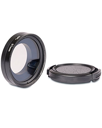 fosmon-37mm-lens-filter-circular-polarizer-lens-cpl-filter-with-lens-cover-for-gopro-hero3-hero3-her