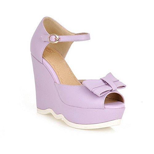 Adee , Damen Sandalen Violett