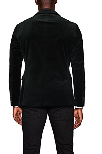 ESPRIT Collection Herren Sakko Grün (Bottle Green 385)