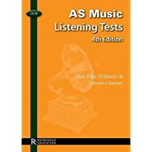 OCR AS Music Listening Tests by Huw Ellis-Williams, Veronica Jamset (2013) Paperback