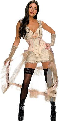 Jonah Hex Megan Fox Deluxe Leila Sexy Adult Costume White - Jonah Hex Für Erwachsene Kostüm