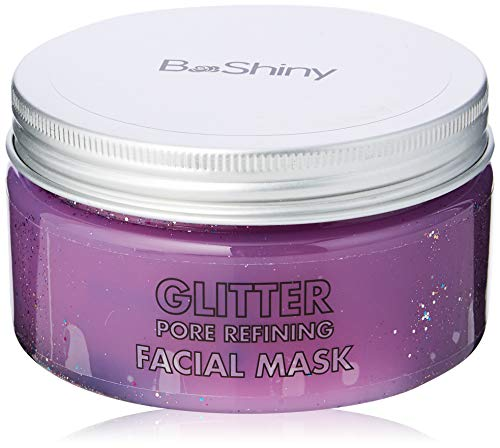 BeShiny Peel Off Gesichtsmaske Glitter für Anti-Aging Anti-Falten-Gesichtsbehandlung Pore Minimizer, Akne-Narbe Behandlung & Mitesser-Entferner 220g