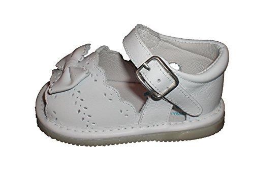 Indice , Chaussures premiers pas pour bébé (fille) 20 Blanc