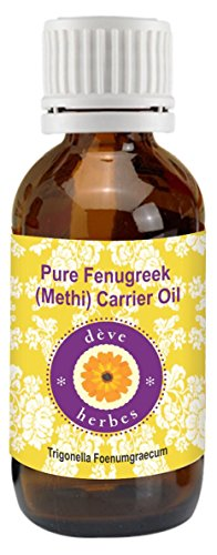 Pure Fenugreek(Methi) Carrier oil 100ml (Trigonella foenumgraecum) 100% Natural Cold pressed