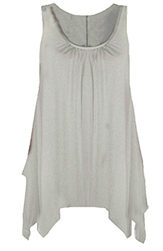 FASHIONCHIC - Canotta -  donna Light Grey