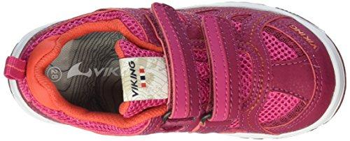 Viking Unisex-Kinder Cascade Ii Low-Top Pink (Fuchsia/Dark Pink 1739)