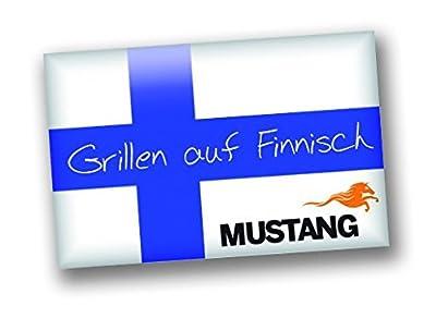 MUSTANG Edelstahl Reiniger | für Grill und Küche | Sprühflasche 650 ml | Finnland